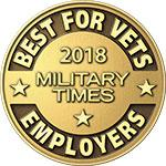 Best for Vets Employer 2018