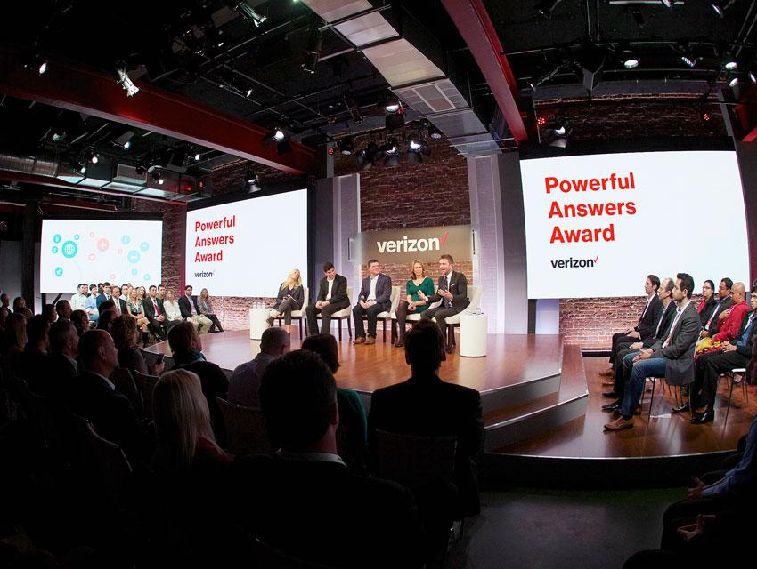 Verizon Powerful Answers Award Event