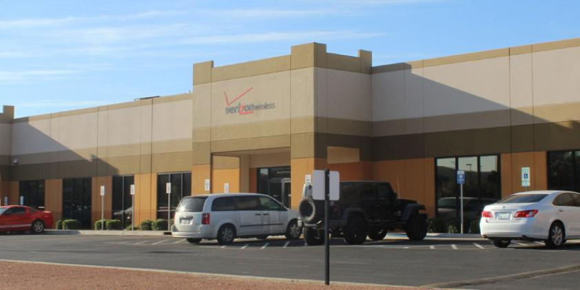 Our offices in El Paso.