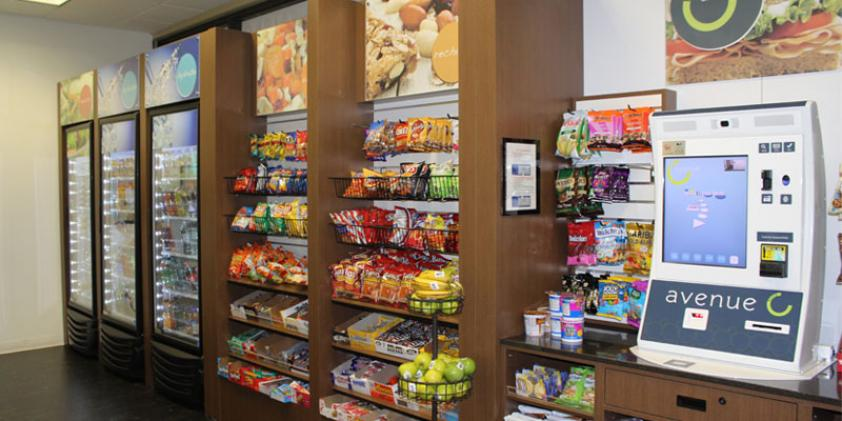 Snacks and drinks are available at our convenience store.
