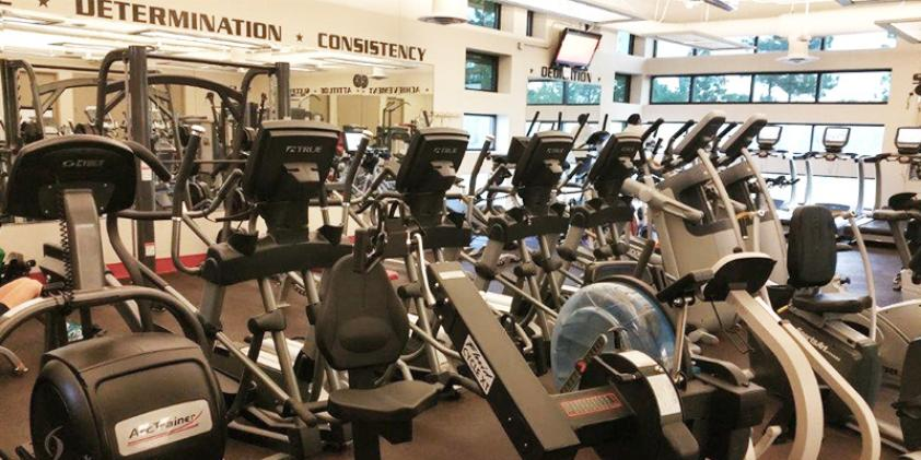 You can stay healthy by taking advantage of our workout facilities.