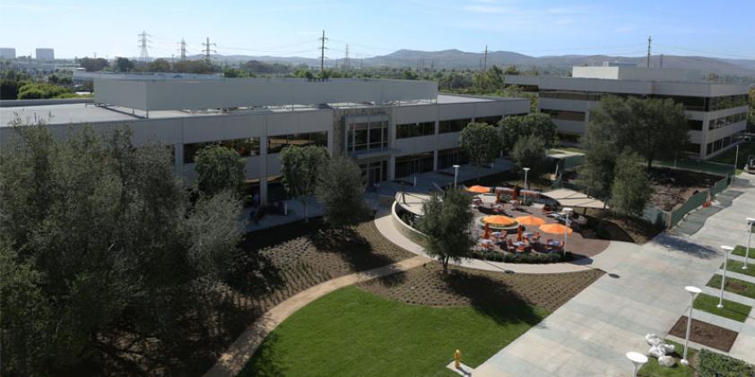 The Irvine Verizon offices.