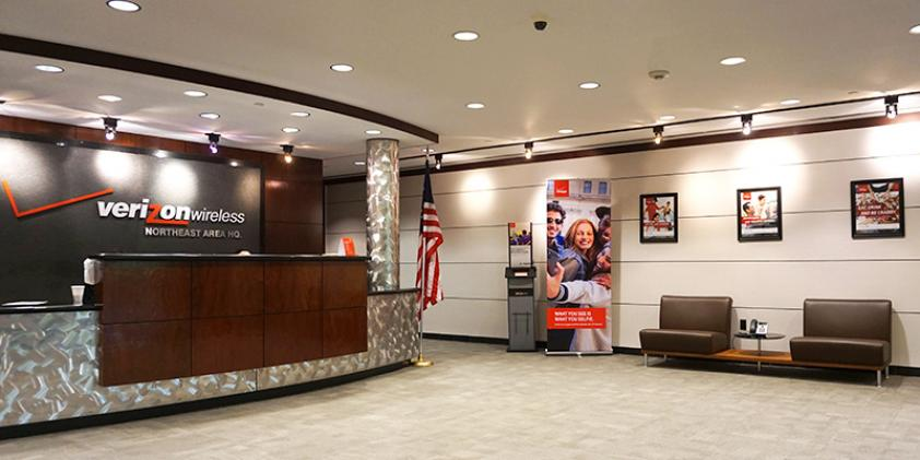 The front desk at our Morristown offices.