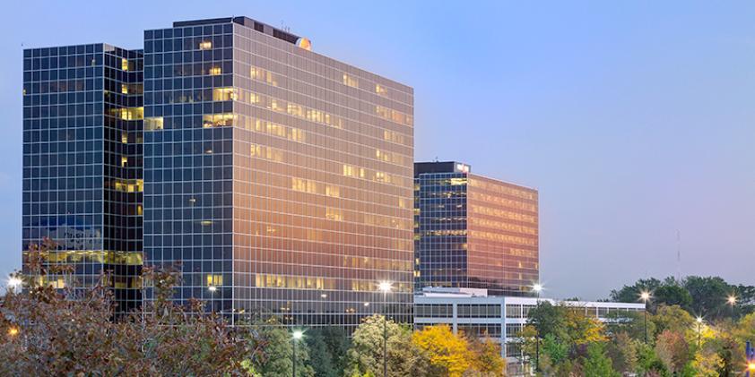 The Verizon offices in Schaumburg.