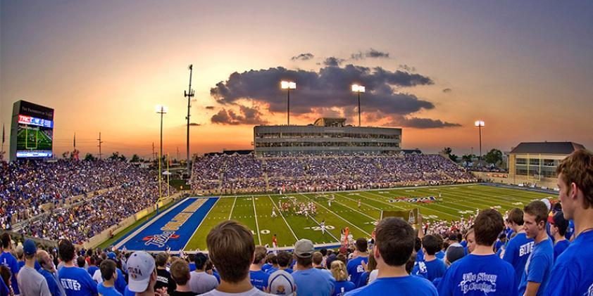 University of Tulsa football game
