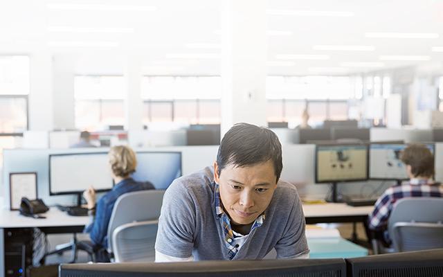Photo of a Technology Employee