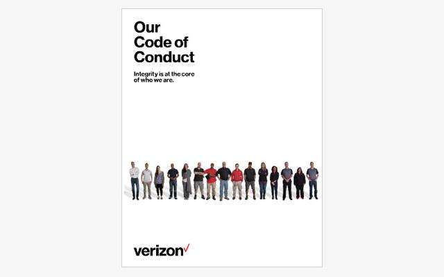 Code Of Conduct  About Verizon