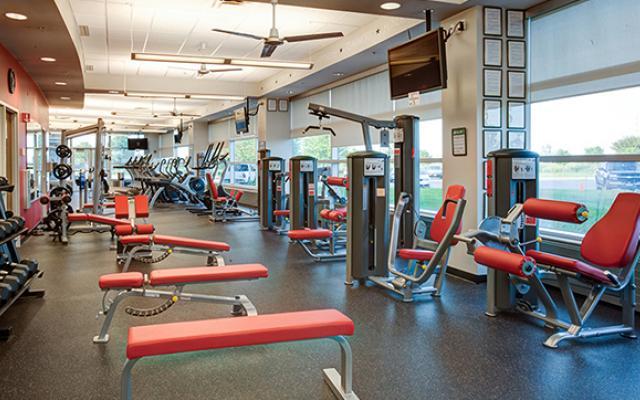 Photo of a Verizon gym