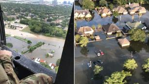 Hurricane Harvey shots