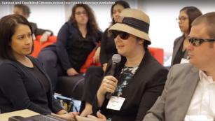 Verizon and Deaf Blind Citizens Action Workshop