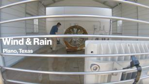 Image of Wind and Rain Test