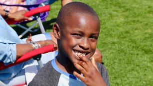 """Montrece Hargrave-Tucker describes him as """"a gift."""" When her son Maxwell was diagnosed with autism, she turned to her Verizon benefits for help."""