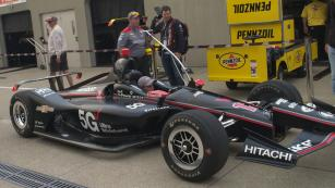 Putting speed to the test with Penske.