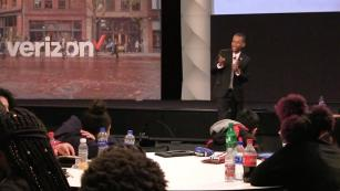Image from the Verizon Black History Month event.
