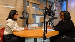 Rima Qureshi sits down for a podcast