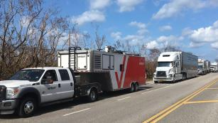 Verizon trucks