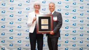 USPS Supplier Performance Award