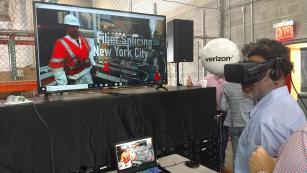 VR Demo Fiber Splice