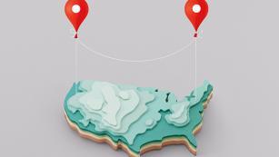 US Map Illustration