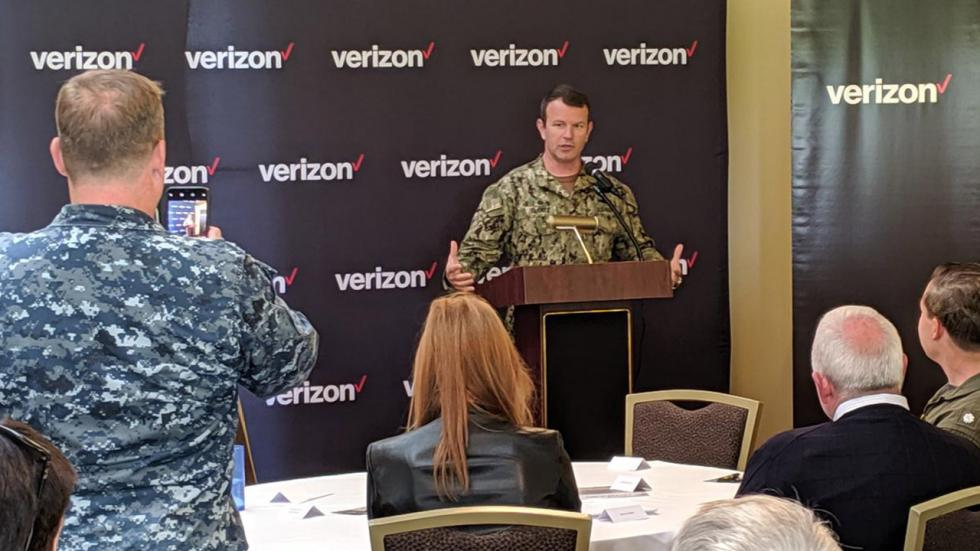 Keeping the military connected, running to a crisis and bringing 5G to IndyCar racing.