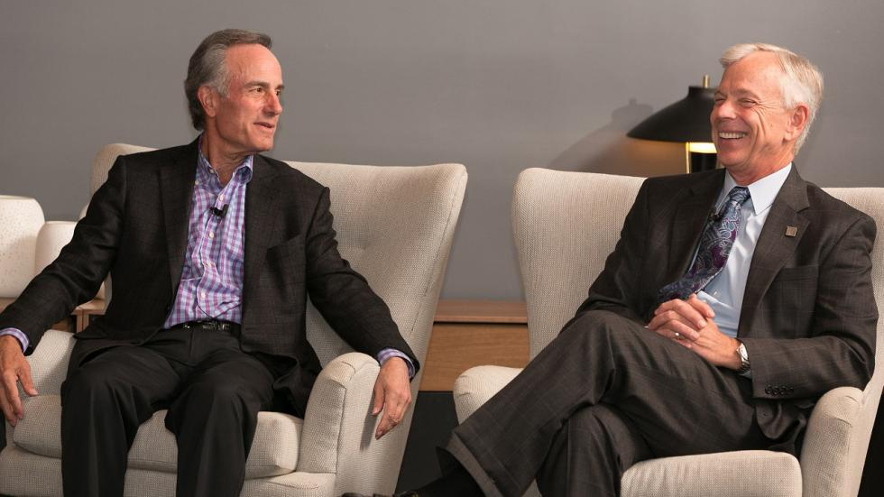 Lowell McAdam and Ivan Seidenberg sit down for a candid conversation
