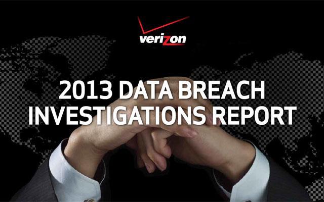 Verizon 2013 Data Breach Investigations Report