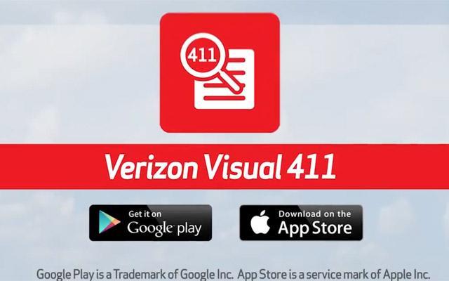 Verizon Visual 411
