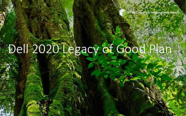 Dell 2020 Legacy of Good Plan