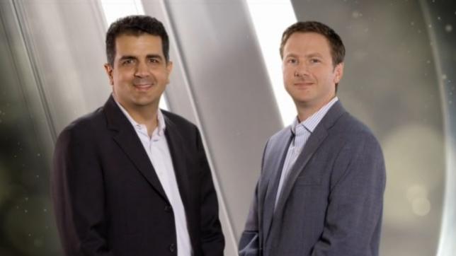 EY Entrepeneur of the Year Award winners Alex Kazerani and James Segil