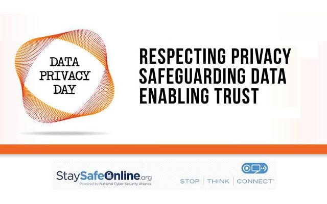 Data Privacy Day, courtesy of the National Cyber Security Alliance