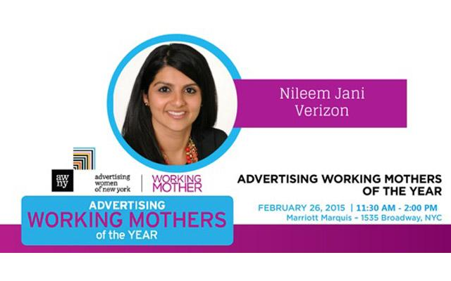 Nileem Jani Working Mother of the Year