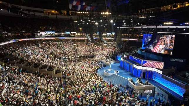 Historic levels of wireless data used at political conventions
