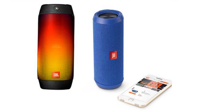 Splash-proof speakers and more savings on audio at Verizon
