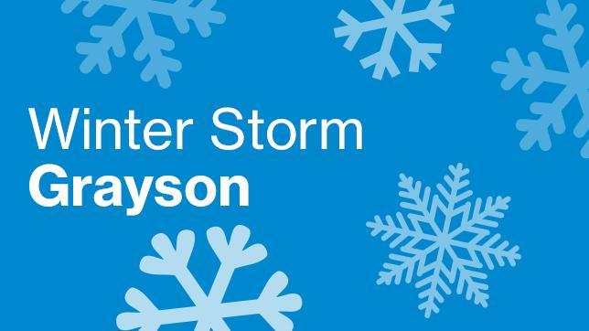 Winter Storm Grayson