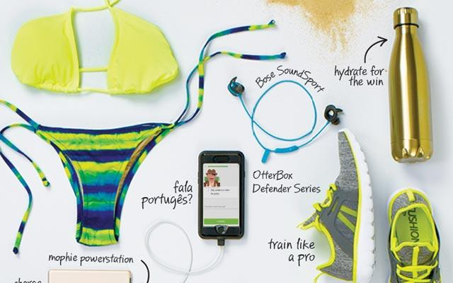 Summer in Rio: essentials for the athletic adventurer