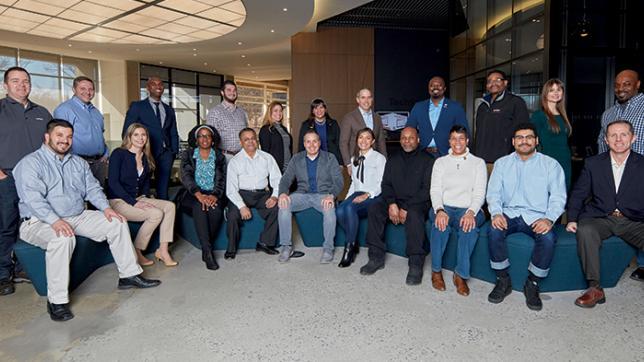 Verizon Military Employees Group Photo