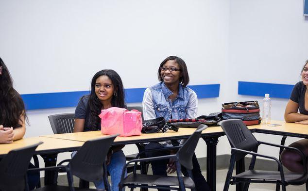 Verizon's graduating class from Girls Who Code