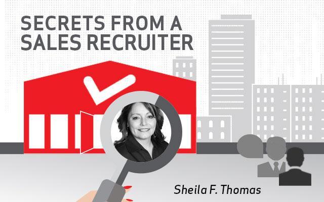 Secrets from a recruiter: Sheila Thomas