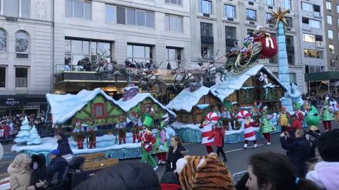 Watch Video about Verizon Up & Macy's Thanksgiving Day parade