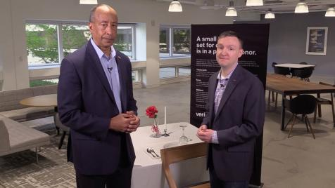 Mike Mason talks about a military tradition we brought to Verizon.