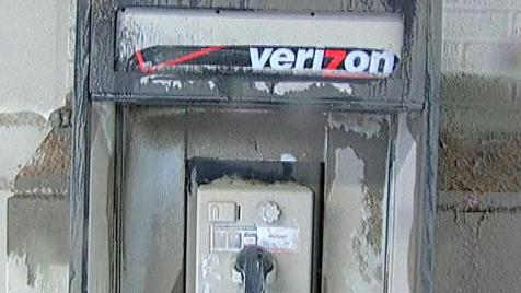 Never forget - Damaged Verizon payphone from 9/11 attacks.