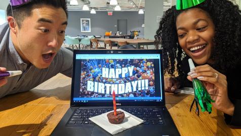 Go internet. It's your birthday.