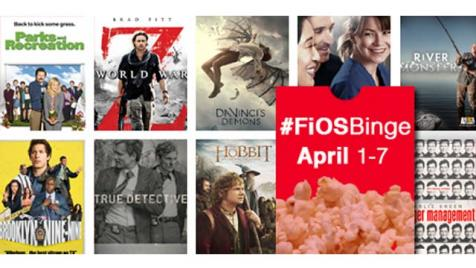 FiOS On Demand Spring Marathon
