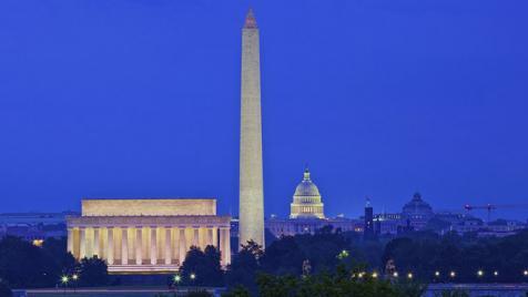 Washington, D.C. at night
