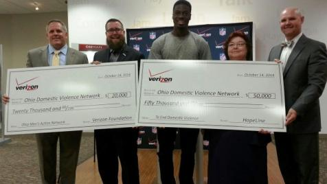 HopeLine Grant to Ohio Domestic Violence Network