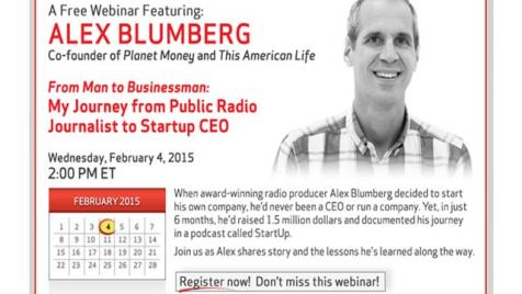 Alex Blumberg - From Man to Businessman