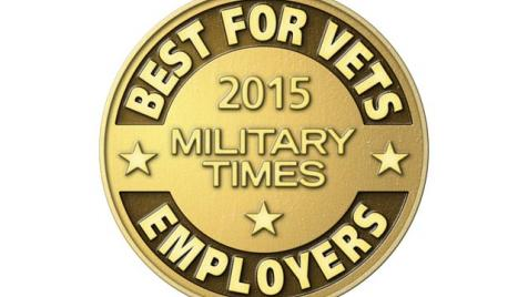 2015 Military Times Best for Vets list of Employers