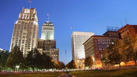 Newark, NJ Skyline