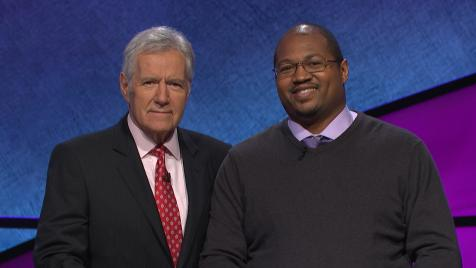 V Teamer from Little Rock, AR returns to defend his Jeopardy title.