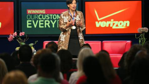 Bonnie St. John speaks at Verizon's Diversity & Inclusion Conference